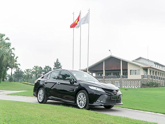Bảng giá xe Toyota Camry 2019 lăn bánh - Hỗ trợ mua xe trả góp với mức lãi suất ưu đãi