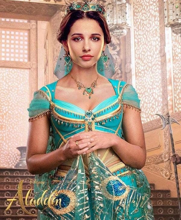 """Vẻ đẹp như kỳ quan của phụ nữ Trung Đông qua công chúa Jasmine của """"Aladdin"""" - 1"""