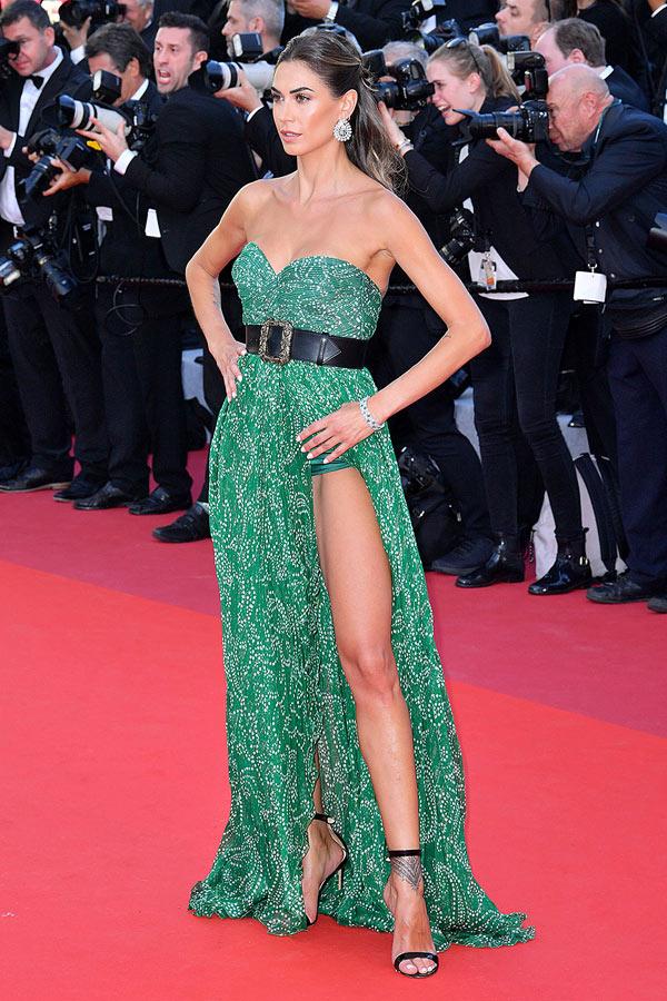 Những chiếc váy xẻ cao đẹp nhất lịch sử Cannes - 3