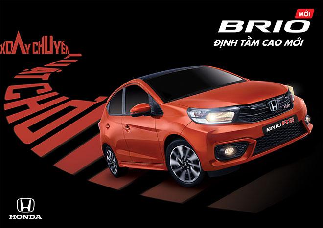 Honda Brio hoàn toàn mới ra mắt tại thị trường Việt Nam - 1