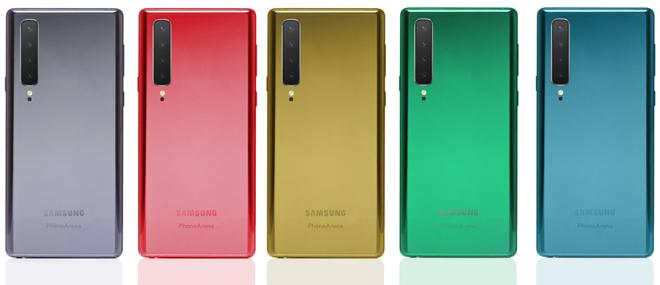 Galaxy Note 10 sẽ có ngoại hình gây tranh cãi - 3