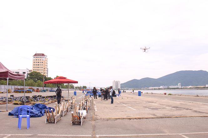 Cận ảnh trận địa pháo hoa Quốc tế Đà Nẵng trước giờ 'khai hỏa' - 2