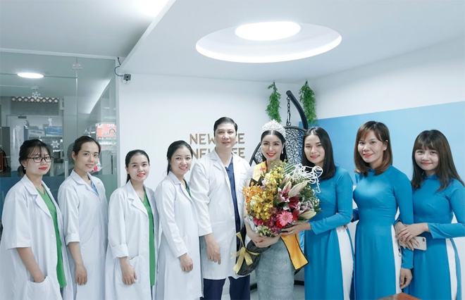 """Bác sĩ Thẩm mỹ NewFace kể chuyện """"tái tạo nhan sắc"""" cho Hoa hậu Băng Khuê - 1"""
