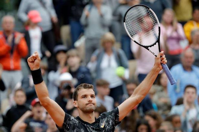Roland Garros ngày 4: Dimitrov thắng ngược vất vả - 1