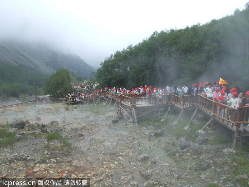 Không chỉ Trương Gia Giới, Cửu Trại Câu, Trung Quốc còn có dãy núi đẹp tuyệt vời này - 13