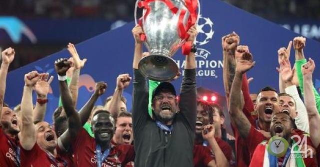 Vua cúp C1 Liverpool đón bão: Dễ vào bảng tử thần với Real Madrid mùa sau