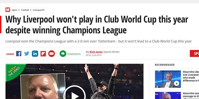 Liverpool vô địch Cúp C1: Vua châu Âu chê không dự giải thế giới - 1
