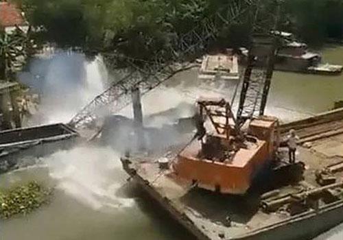 Vụ sập cầu ở Đồng Tháp: