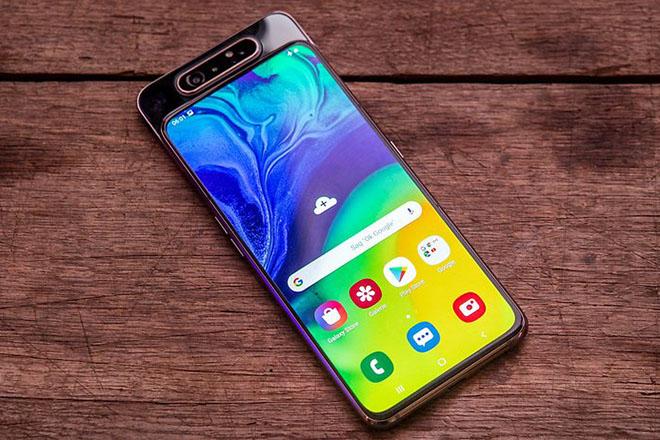 Galaxy A80 cập bến thị trường Việt với giá 14,99 triệu đồng - 1