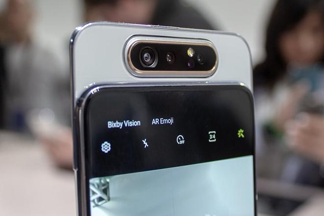 Galaxy A80 cập bến thị trường Việt với giá 14,99 triệu đồng - 2