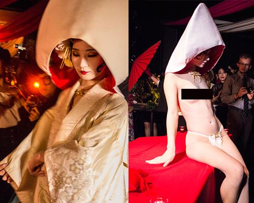 Niềm vui hiếm hoi của các trinh nữ chấp nhận làm mẫu nude bàn tiệc - 3