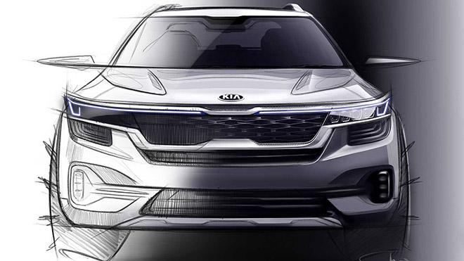 Kia Seltos - mẫu SUV cỡ nhỏ sắp chào sân vào tháng 6, cạnh tranh các đối thủ cùng phân khúc - 2