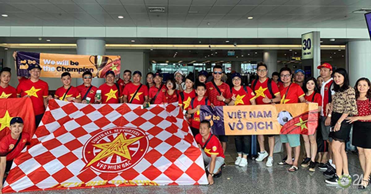 Rực lửa đại chiến ĐT Việt Nam – Thái Lan: Fan Việt đổ bộ Buriram
