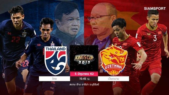 """Trực tiếp bóng đá King's Cup, ĐT Việt Nam - Thái Lan: Thầy Park mơ lần thứ 3 hạ """"Voi chiến"""" - 10"""