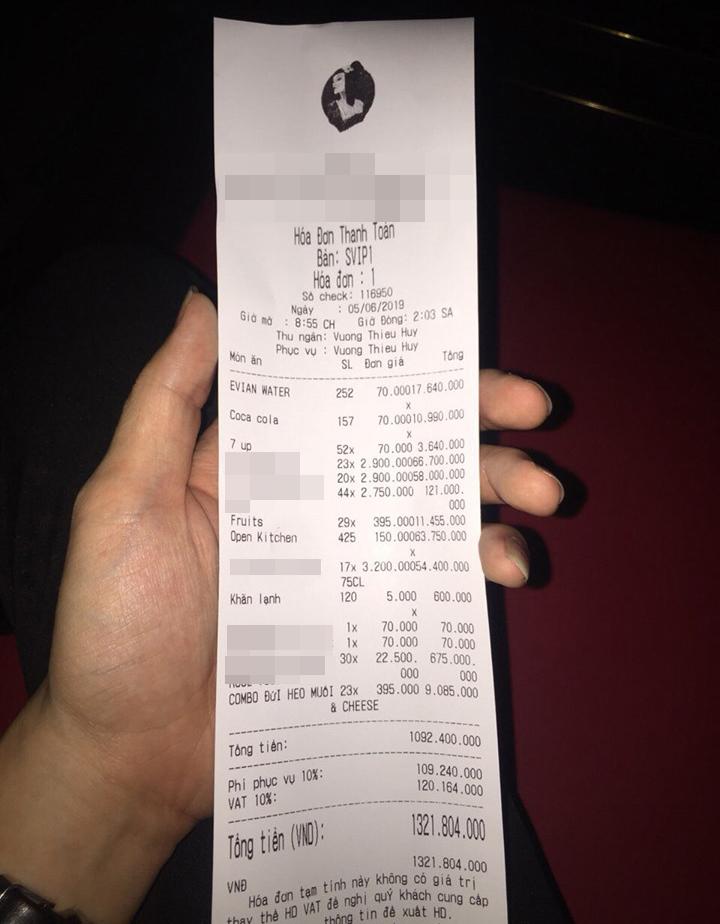 Tiệc sinh nhật có Hà Hồ, Mr. Đàm đến dự gây sốc với hóa đơn 1,3 tỷ - 2