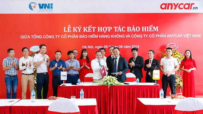 Anycar Việt Nam & Bảo hiểm hàng không VNI ký hợp tác bảo hiểm toàn diện - 1