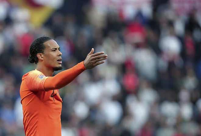 Bồ Đào Nha đấu Hà Lan: Ronaldo có thắng nổi Van Dijk 65 trận chưa bị vượt qua? - 1