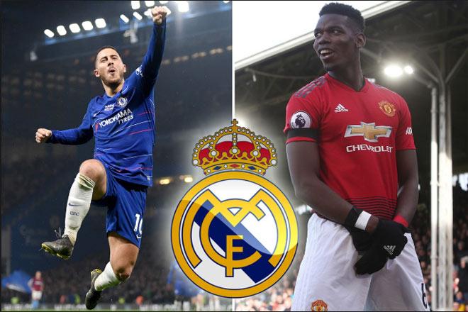 Real có Hazard, được MU đàm phán vụ Pogba: Bom tấn 150 triệu bảng sắp nổ - 2