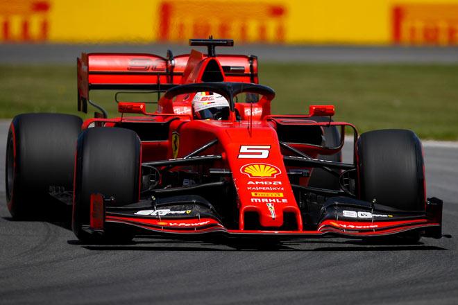 """Đua xe F1: Đua phân hạng Canada GP: Vettel đoạt pole """"thần thánh"""", Ferrari đã trở lại ? - 2"""
