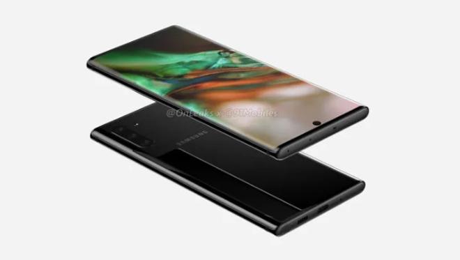 Galaxy Note 10 Pro có màn hình siêu đẹp, pin 4.170 mAh - 1