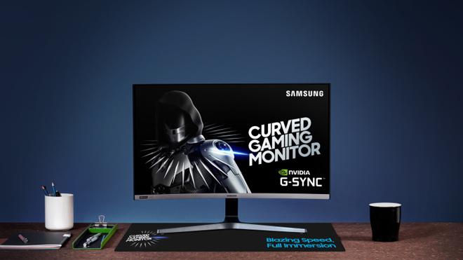 HOT: Samsung lần đầu tiên ra mắt màn hình cong chơi game CGR5 27 inch - 1