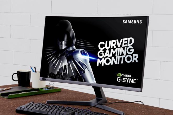 HOT: Samsung lần đầu tiên ra mắt màn hình cong chơi game CGR5 27 inch - 2
