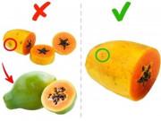 7 loại quả hay bị chọn sai nếu dựa vào màu sắc vỏ ngoài