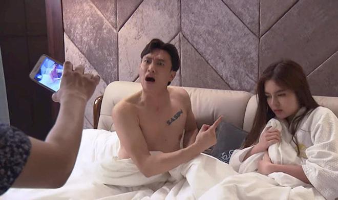 Hot girl ở khách sạn cùng nam diễn viên có nhà 35 tỷ hé lộ sự thật về 'nụ hôn 3 tiếng' - 2