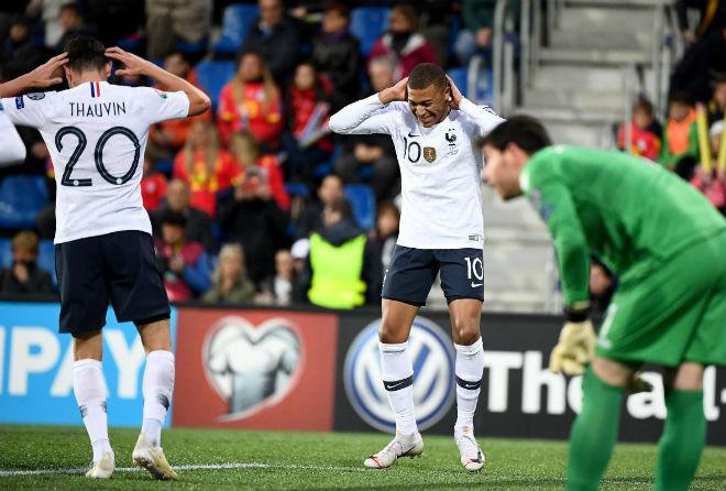 Andorra - Pháp: Mbappe khơi màn đại tiệc bàn thắng - 1