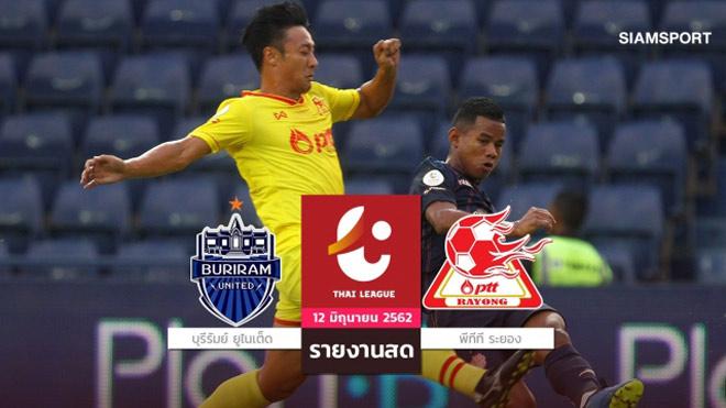 Buriram United - PTT Rayong: Tung đòn sắc lẹm, đội Xuân Trường hân hoan (Hiệp 1) - 1