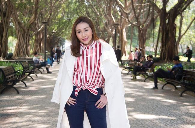 Sabrina Ho, sinh năm 1990. Cô là một trong 17 người con của ông trùm sòng bài Stanley Ho.