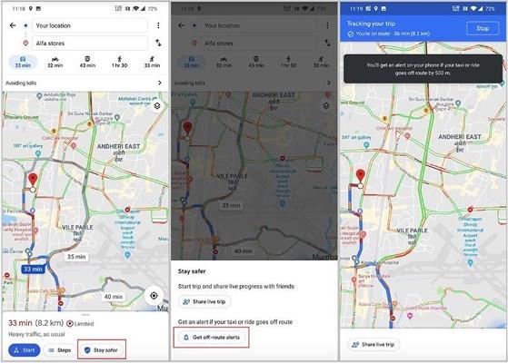 Google Maps sẽ cảnh báo nếu tài xế taxi cố tình lái lòng vòng - 1