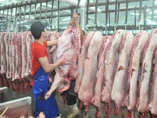 Giá thịt heo tăng sốc, khan hiếm - 1