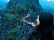 Đứng hình trước khung cảnh kỳ vĩ của Ninh Bình qua lăng kính của nàng 9X