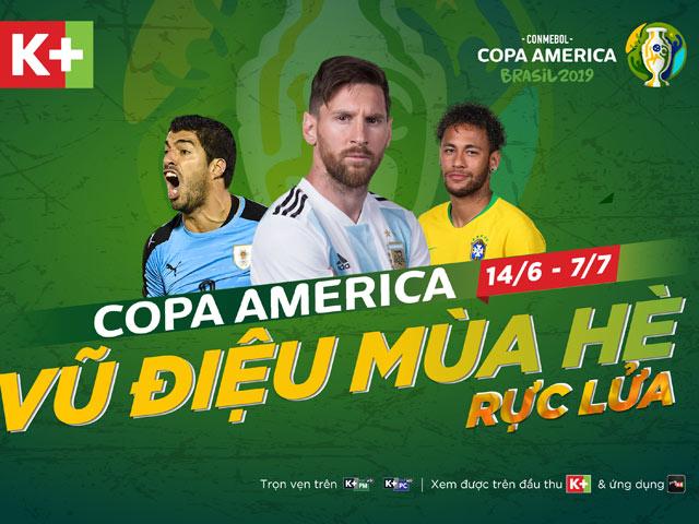 Xem trận Brazil và Argentina trên kênh nào?