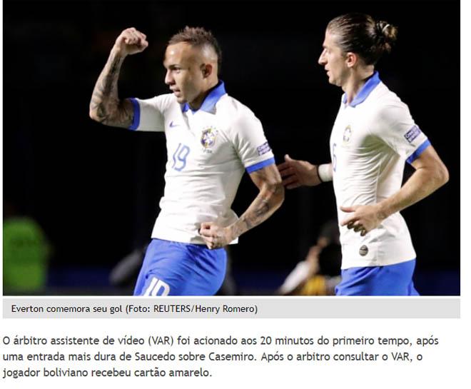 """Brazil đại thắng Copa America: Báo chí """"choáng"""" vì SAO Barca xuất sắc - 4"""