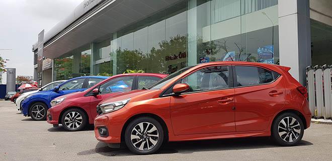 Cận cảnh Honda Brio vừa cập bến đại lý, chờ đợi giá bán chính thức - 6