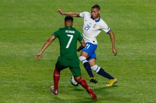 Brazil - Bolivia: Coutinho rực rỡ, siêu phẩm đại tiệc (Copa America) - 1