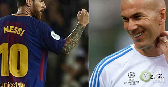 Trái ngược Real - Barca: Zidane liên tiếp đón tân binh, Messi khát khao đồng đội mới