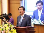 Tổng Thư ký QH không đồng tình với đề xuất