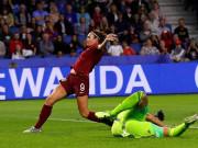 """Anh – Argentina: Trắng tay đáng tiếc, phụ công """"người nhện"""" (World Cup nữ)"""