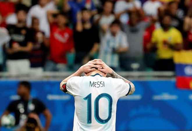 Argentina – Colombia: Hiệp 2 kinh hoàng, Messi tắt lịm (Copa America) - 1