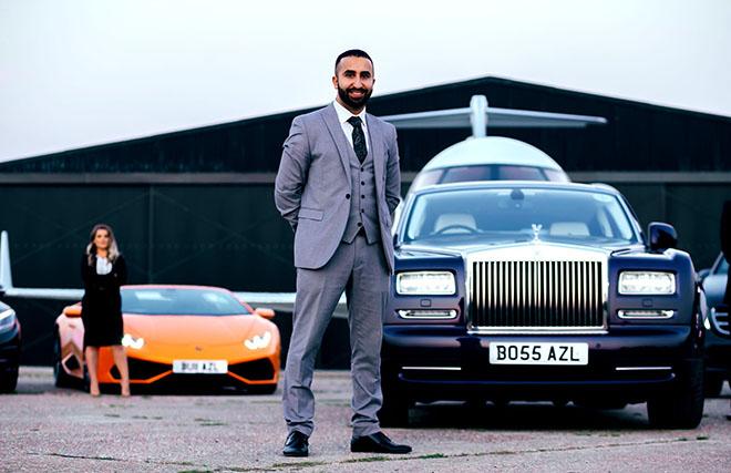 Chuyện thuê xe của giới nhà giàu và những yêu cầu