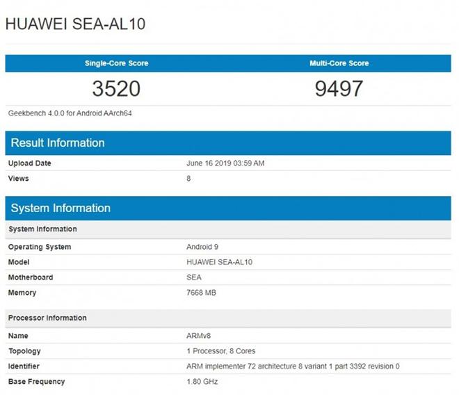 Huawei nova 5 có camera selfie 32 MP giọt nước thay vì đục lỗ - 2