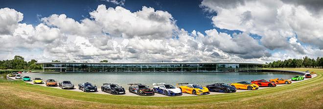 Mãn nhãn với dàn Car Passion chục triệu đô của câu lạc bộ xe McLaren - 1