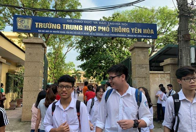 Những trường THPT nào ở Hà Nội còn chỉ tiêu, xét tuyển nguyện vọng 3 - 1