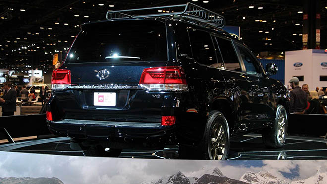 Toyota Land Cruiser thế hệ mới có khả năng sẽ sử dụng động cơ V6 tăng áp - 3