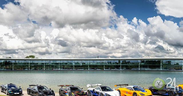 Mãn nhãn với dàn Car Passion chục triệu đô của câu lạc bộ xe McLaren
