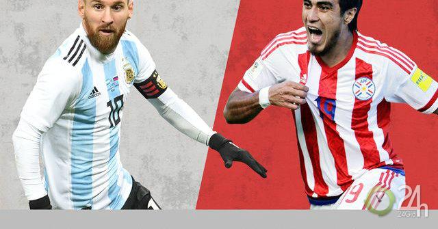 Trực tiếp bóng đá Argentina – Paraguay: Trăm sự nhờ cậy Messi