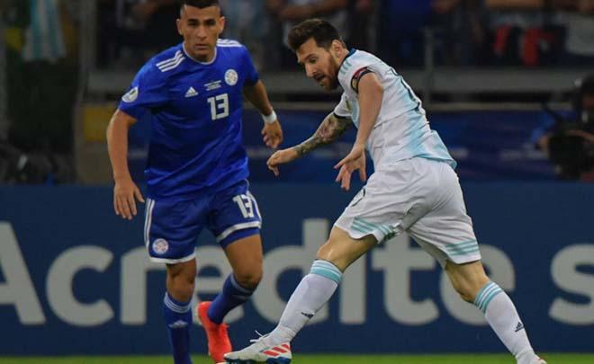 Argentina - Paraguay: VAR cứu nguy, Messi khai hỏa (Copa America) - 1